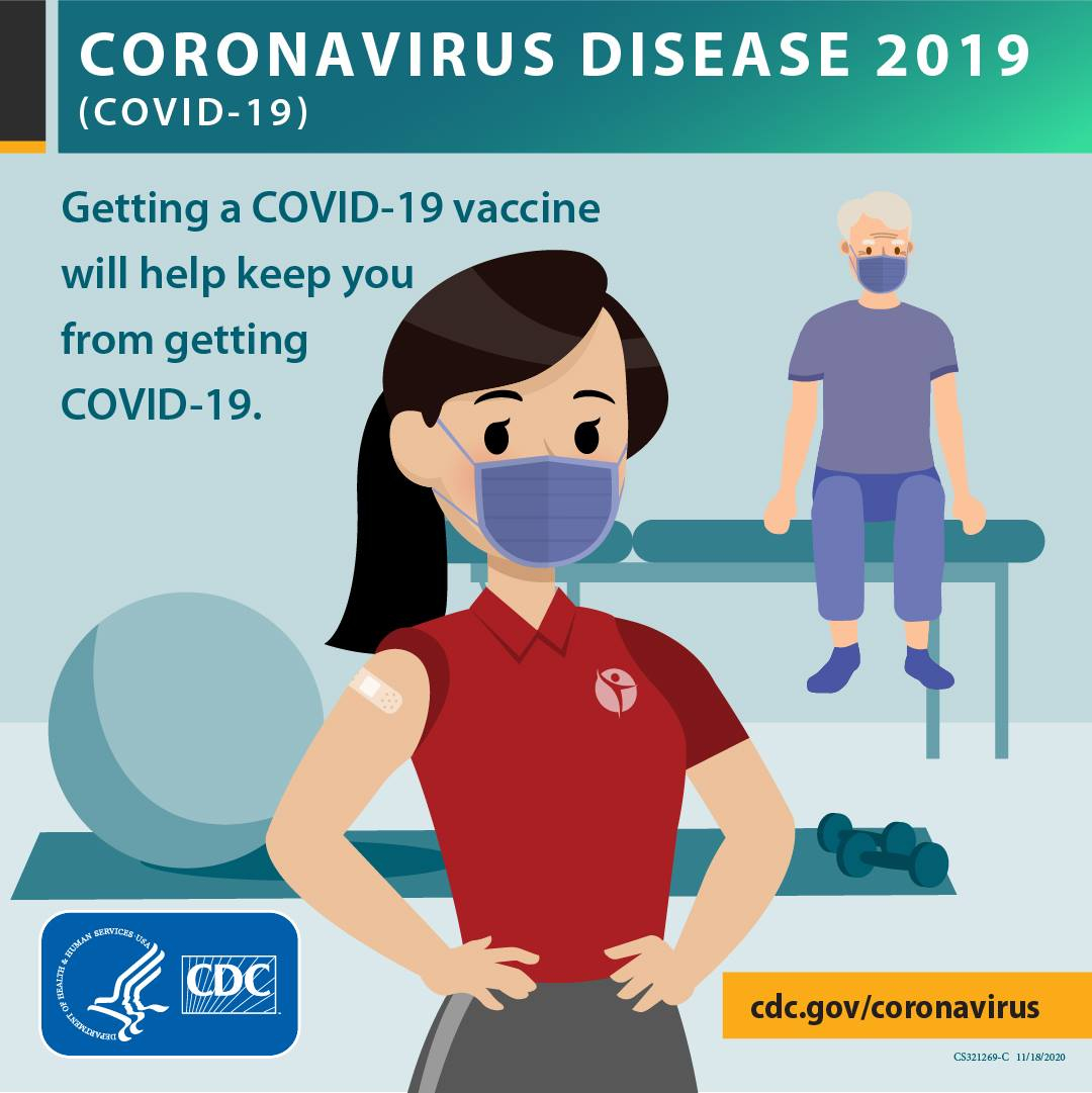 """Getting a vaccine will keep you from getting COVID-19"""